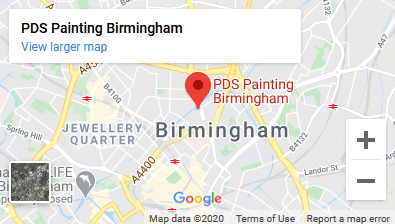 Google My Business PDS Painting Birmingham